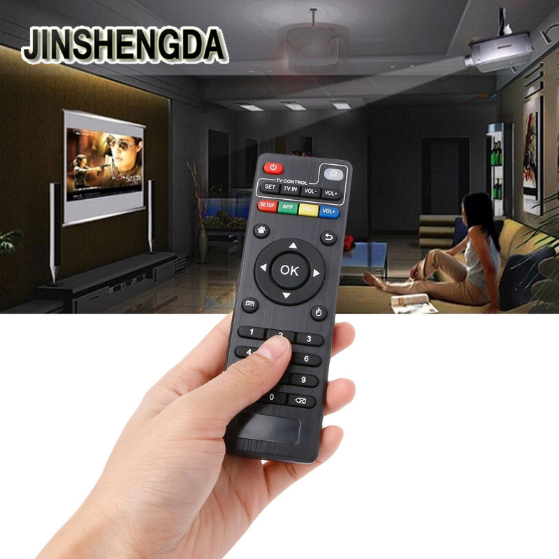 JINSHENGDA IR Remote Control Replacement For Android TV Box for H96 pro M8N M8C M8S V88