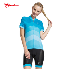 Tasdan Women's Cycling Jersey Sets Bike Wear  Cycling Clothings Jerseys  MTB Shorts Sports Clothing Sets Suits Breathable