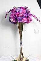 SPR düğün yol kurşun çiçek masa centerpiece çiçek top dekorasyon yapay kemer çiçekler parti ev zemin flores
