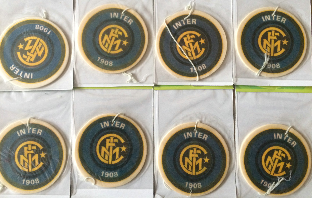 1pce paper car air freshener air freshener Inter Milan car perfume 1908 football team
