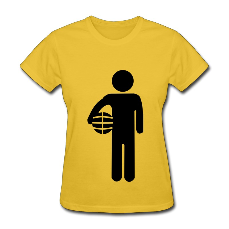 Girls casual tee basketball team cute company logo t shirt for T shirt company reviews