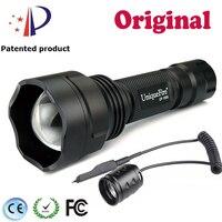 Original Brand Mini Adjustable Flashlight UF1505 940nm LED Bulb Flashlight+Rat Tail Switch Tail Wrist Strap For Easy Carrying