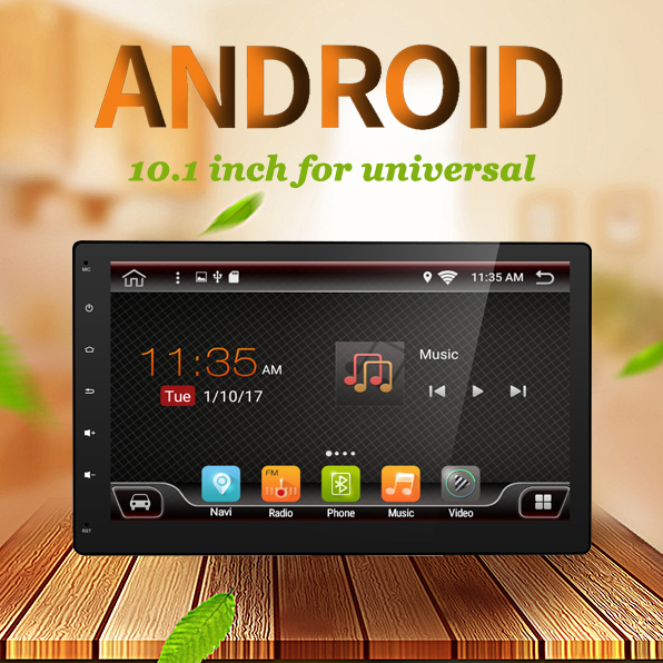 2din Android 7.1.1 10.1 inch Car radio GPS Navigation 2 din Car Stereo Radio Car GPS Bluetooth USB/SD Universal Player 3/4G Wifi auto android 6 0 car audio gps navigation 2din car stereo radio car gps bluetooth usb universal interchangeable player tv 8g map