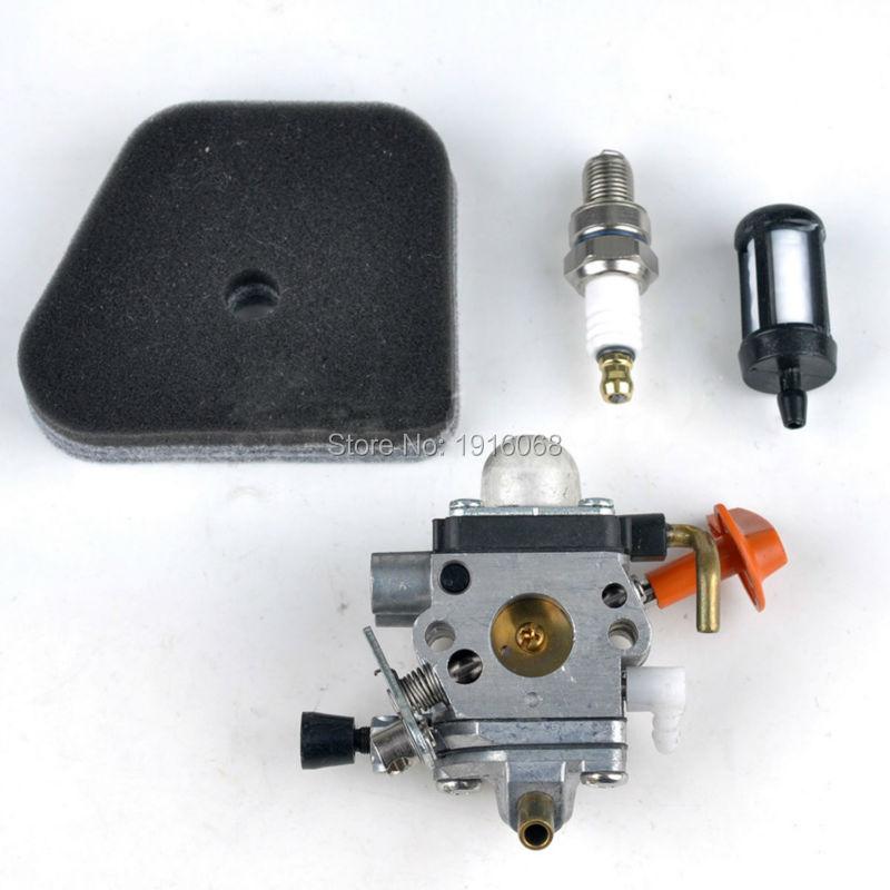 Carburetor Carb for Stihl FS100 FS100R FS110 FS87 FS90 KM100 KM110 KM90 Trimmer Blowers ZAMA C1Q-S174 S173 S176 41801200610 new arrival mayitr grass trimmer gear box head replacement for fs130 fs120 fs110 fs100 fs90 fs85 fs80