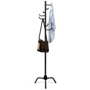 Image 5 - 8 haczyków wielofunkcyjny wieszak na płaszcz kapelusz metalowy organizator stojaków wieszak sypialnia hak stojak na torebkę torebka ubrania uchwyt na szalki haki