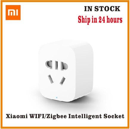 Oryginalny Xiaomi MI inteligentne gniazdo wtykowe Zigbee wersja WiFi bezprzewodowy zdalny adapter gniazda przełącznik czasowy zasilania włączanie i wyłączanie z telefonem