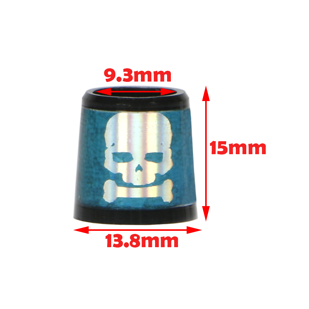 Купить с кэшбэком NEW skull golf socket golf ferrules for irons and wedges spec : inner * higher* outer size 9.3 *15*13.8 mm free shipping