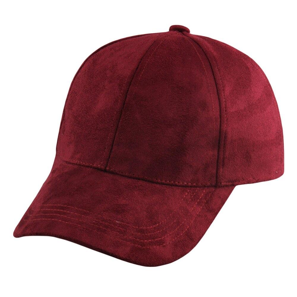 2017 hot new autunno cap donne uomini snapback caps pelle scamosciata  cappelli sarachinesche Hip Hop Per Le ragazze dei ragazzi 8 Colori Della  Caramella H1 3c8a1dbf7bb3