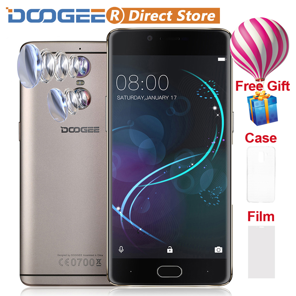 """bilder für DOOGEE SCHIEßEN 1 4G LTE Fingerprint ID 5,5 """"FHD 1920*1080 8MP + 13MP Smartphone Android 6.0 MTK6737T handy 2 GB + 16 GB Handy"""