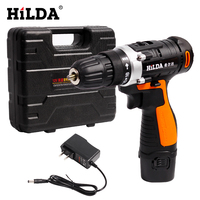 Cordless drill with Plastic case screwdriver Lithium Battery Electric Drill Furadeira Cordless Screwdriver Power Tools