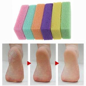 Image 2 - 1pc pédicure/soins des pieds pied pierre ponce pédicure outils pour pied frotter la peau morte de vos pieds rendre les pieds lisses et confortables ~