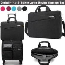 2016 Fashion Laptop Bag 15.6 14 13 12 11 inch Notebook Shoulder Messenger Bag Computer Sleeve Sling Case for Macbook Pro 13 15
