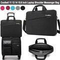 2017 Fashion Laptop Bag 15.6 14 13 12 11 inch Notebook Shoulder Messenger Bag Computer Sleeve Sling Case for Macbook Pro 13 15