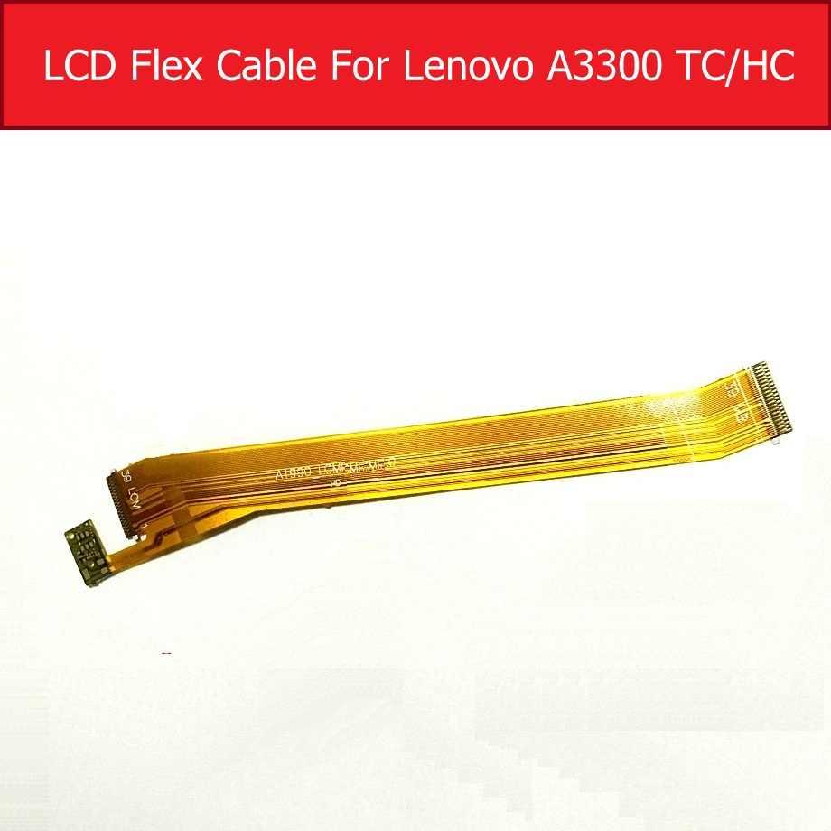 حقيقي LCD فليكس كابل لينوفو TAB2 A7-30TC/HC A3300TC HC اللوحي لوحة ال سي دي ربط اللوحة شريط مرن استبدال أجزاء