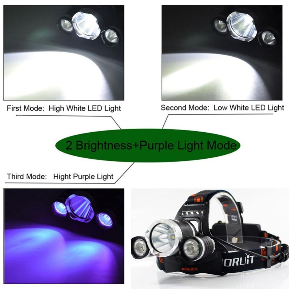 3-led headlamp