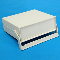 200 175 70mm Waterproof White Plastic Enclosure Project Box Instrument Desk Case Shell With Handle For