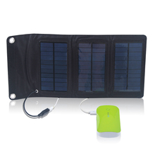 igh efficiency Portable 5W solar phone charger for  iPad/ Mobile phone/PDA/ MP4/digital camera