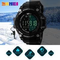 SKMEI Men Smart Watch Pedometer Calories Chronograph Fashion Bluetooth Sports Smartwatch Waterproof Digital Wristwatches Clocks