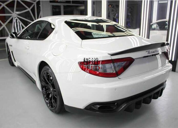 Carbon Fiber Car Rear Wing Trunk Spoiler For Maserati Granturismo Gt Gts Coupe 2door 2008 2017 Fast By Ems