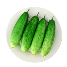 050 Simulation of plastic fruit and vegetable decoration props / model fake cucumber 20*5.2cm