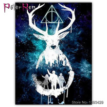 Hanging Diamond Painting Deer Embroidery Mosaic 5D DIY square ound icon Shiny bead Full sticker cross stitch gift Goat forest