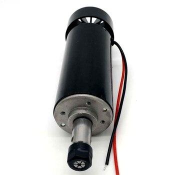 DIY engraving machine CNC spindle spindle ER11 DC 500W 100 V 12000 rpm spindle motor DIY Spindle radial runout 0.01mm