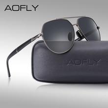 AOFLY Original Design Vintage Polarized Sunglasses Men Brand Aviation Sun glasses Driving Shades For Male Eyewear Accessories