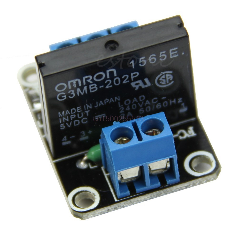 5V 1 Channel OMRON SSR Low Level Solid State Relay Module 250V2A