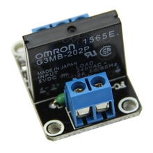 5V 1 Channel OMRON SSR Low Level Solid State Relay Module 25