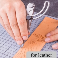 Высокое качество DIY крыло делитель Кожа ремесло вращающийся царапины кожевенное ремесло циркули для мебели DIY ручные швейные инструменты
