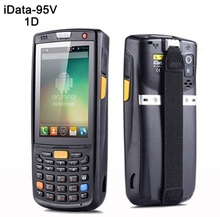 three.5 Inch 4G Handheld Information Collector Wi-fi Android POS Information Terminal 1D Laser PDA with Bluetooth, Wifi,GPS