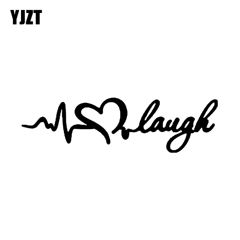 Us 1 06 40 Off Yjzt 15cm 4 2cm Live Love Laugh Funny Lady Driven Kiss Woman Car Sticker Vinyl Decal Black Silver C3 0311 In Stickers From