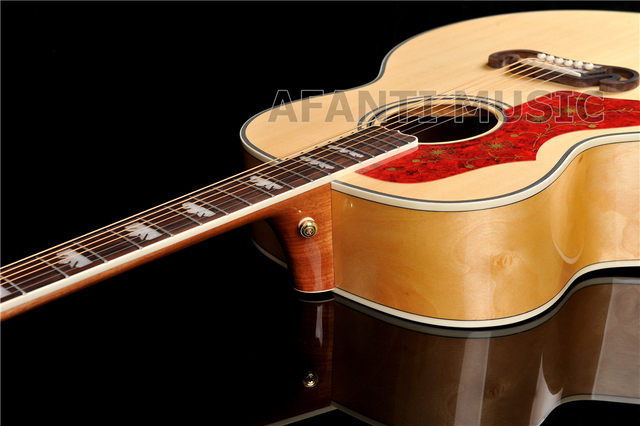 43 inch AFT-J200 Spruce top, Left-hand Acoustic guitar with EQ (AFT-J200) 3