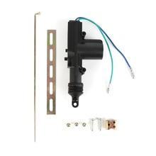 Автомобильная сигнализация Центральный замок 2 провода автоматический силовой дверной замок привод Черный XNC