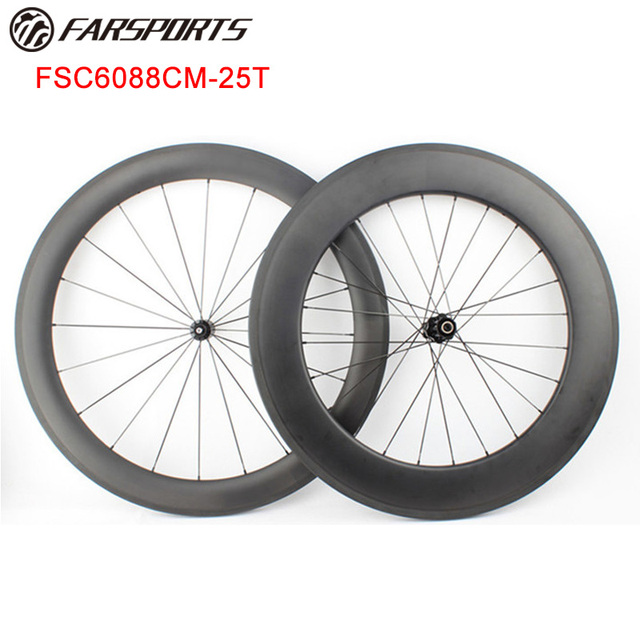 82b523d1460 Mixed Wheels high profile front 60mm rear 88mm clincher tubeless ready