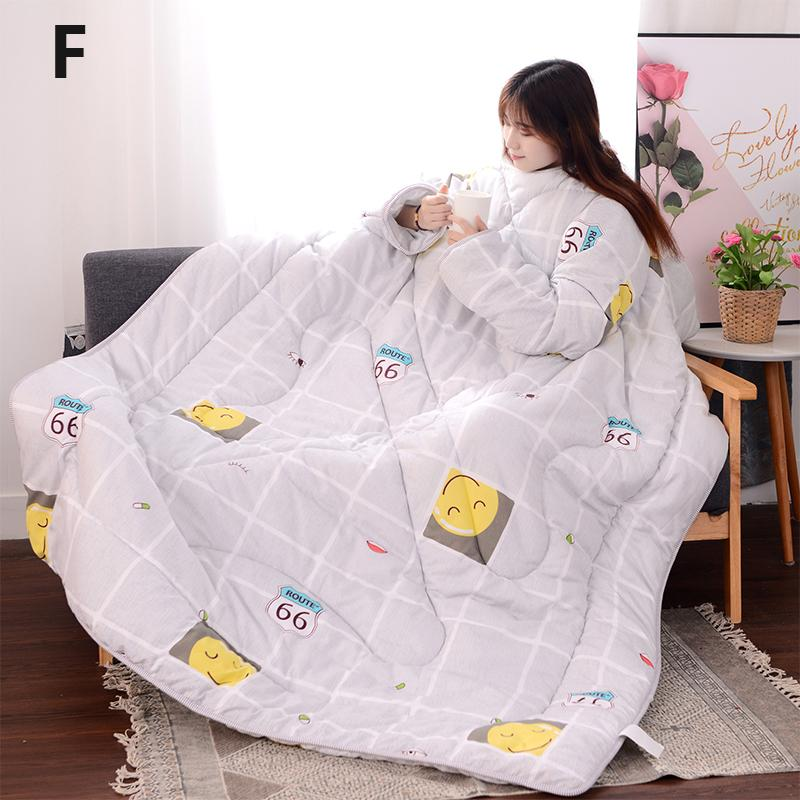 Winter Lazy Quilt With Sleeves - 30% OFF 3