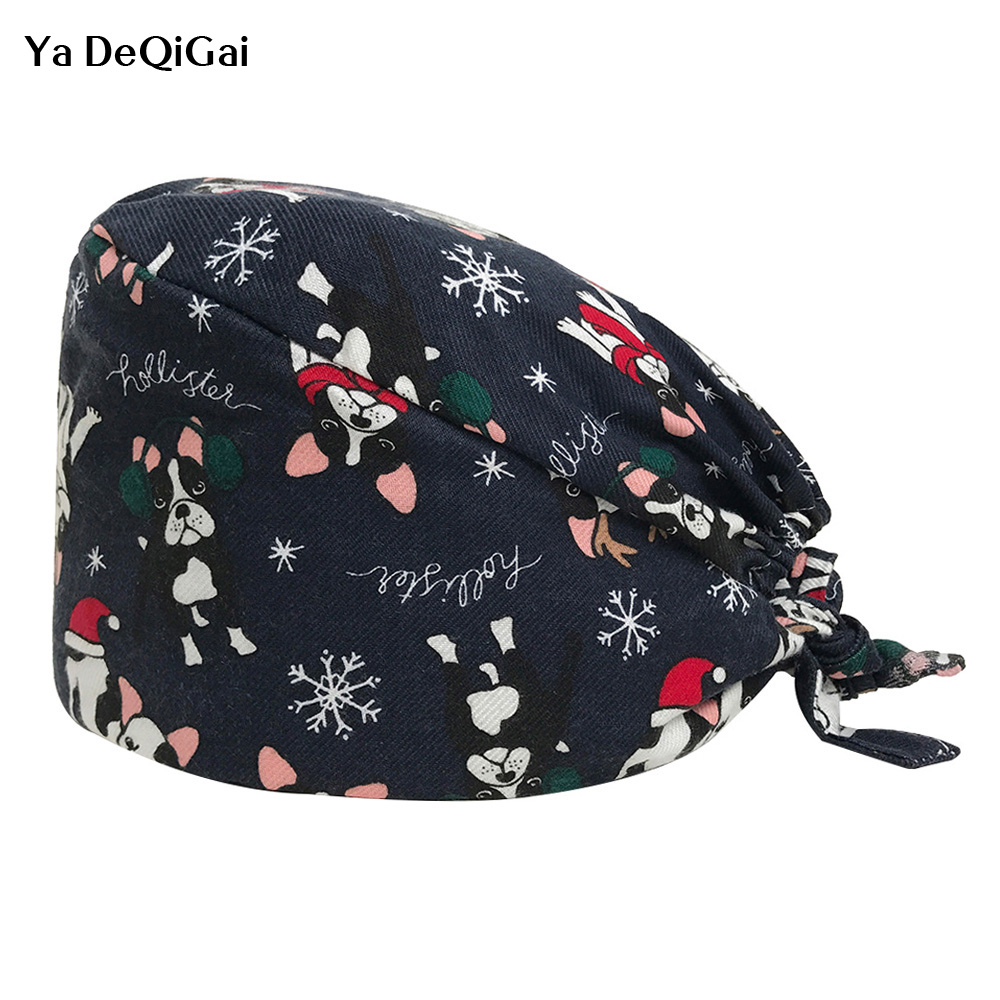Dental Clinic Pharmacy Work Hats Medical Surgical Caps Adjustable Hospital Nursing Scrubs Doctor Surgery Cap Men And Women