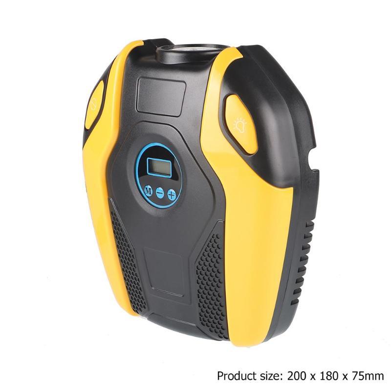 VODOOL Car Repair Tool Digital Display Portable 12V Car Electric Air Compressor 150PSI Tire Inflator Pump Car Accessories Part