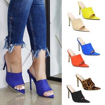 b489b843454 El 2019 de las mujeres bombas zapatos de tacones altos zapatillas mujer  además de gran talla grande mujer vestido de mujer de moda zapatos de mujer  nuevo