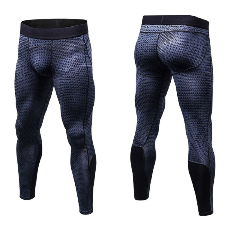 mens running pants jogging homme legging basketball tights compression soccer Sports leggings Running Pants Mens Gym Fitness