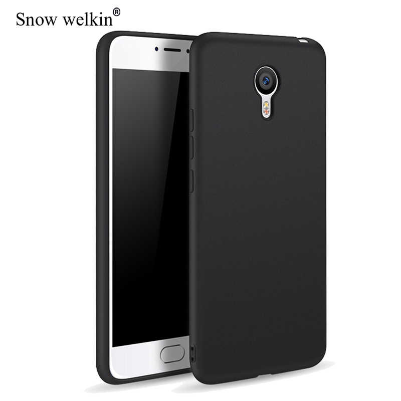 Matte TPU Frosted Ultra Thin Soft Silicone Case For Meizu M3S M3 Note M3 Mini M5 M6 Note 16 15 Plus S6 Back Cover Coque Etui Tok
