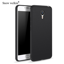 цена на Matte TPU Frosted Ultra Thin Soft Silicone Case For Meizu M3S M3 Note M3 Mini M5 M6 Note 16 15 Plus S6 Back Cover Coque Etui Tok