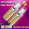 G9 LED 220V 5W 6W 7W 9W 10W led Lamp 32SMD 2835SMD 3014SMD 104 leds2014 NEW lamp 360 Beam Angle LED spot light warranty