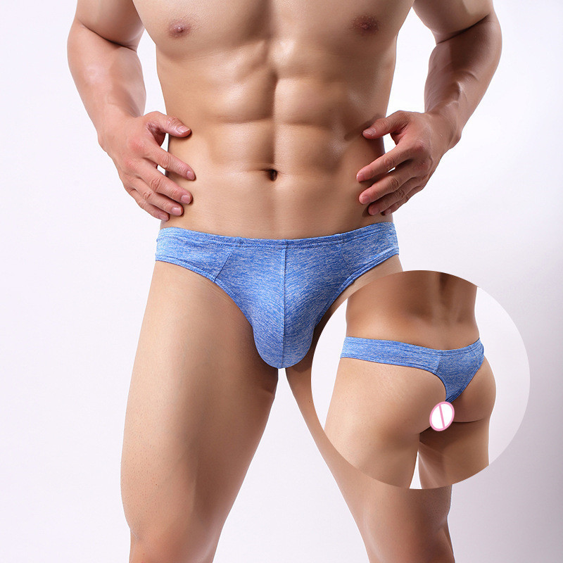 fa63f2b428fd Detail Feedback Questions about Soft Cotton Thong Men Sexy Comfortable Breathable  Tanga Sexy U Convex G string Underwear Plus Size S XL on Aliexpress.com ...