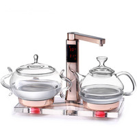 Glass electric kettle boiling tea ware fully automatic health raising pot art furnace