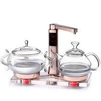 Szkło czajnik elektryczny wrzącej herbaty ware w pełni automatyczne podnoszenie zdrowia pot art piec w Czajniki elektryczne od AGD na