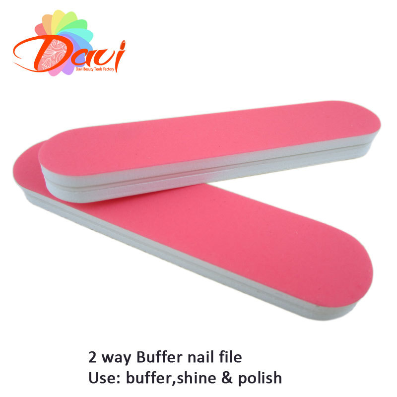 40pcs Lot Mini Nail Buff Files Polishers For Nails Pink Tools Buffer Shine Polishing Art In Buffers From Beauty Health On