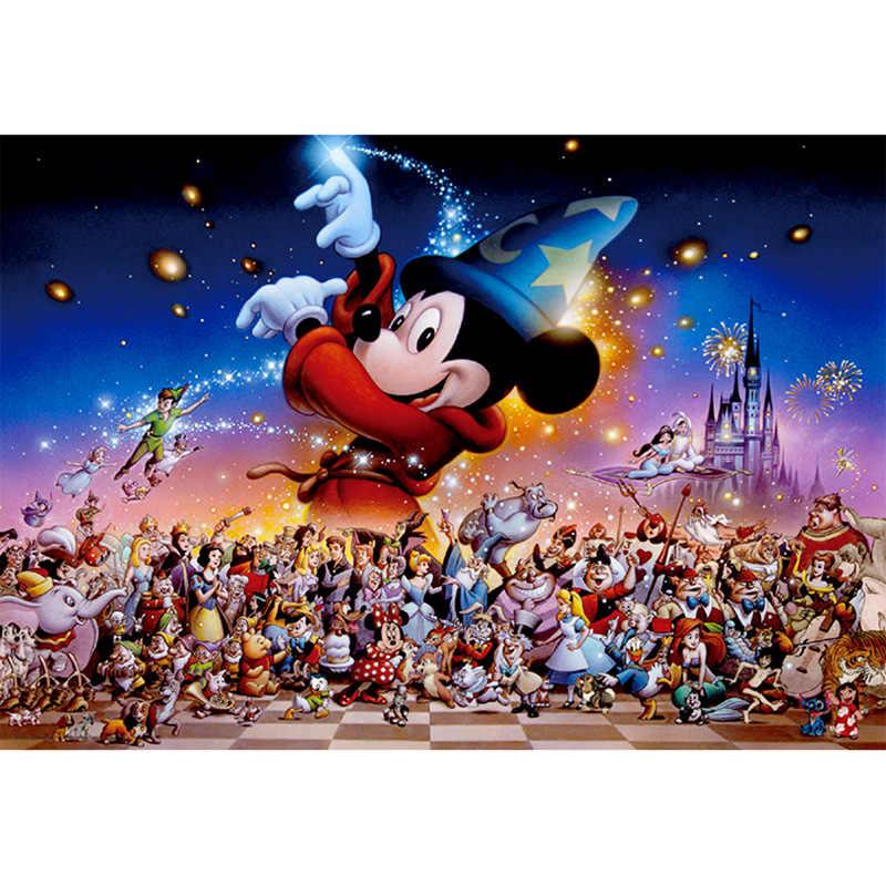 """Full Quadrado/Rodada Broca 5D DIY Pintura Diamante """"Mickey Mouse"""" 3D Mosaico de Diamante Bordado Ponto Cruz Strass decoração"""