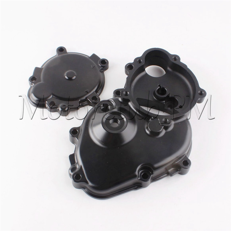 Motorcycle Stator CNC Engine Cover Crankcase Crank Case For Kawasaki Ninja ZX6R 2009 2010 2011 New