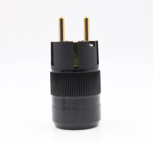 Image 1 - مصنع العرض مباشرة 24 كيلو مطلية بالذهب الاتحاد الذكور المكونات ايفي schuko موصلات الطاقة